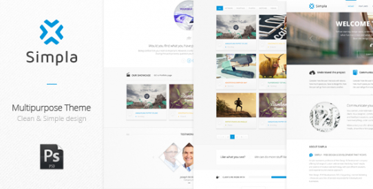 Simpla - Multipurpose Corporate Theme